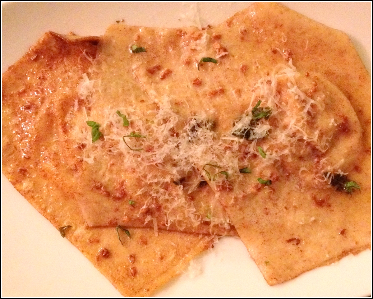 sage browned butter ravioli with sage brown flavors of fall chestnut ...